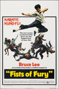 """Movie Posters:Action, The Big Boss (National General, 1973). Folded, Very Fine. One Sheet (27"""" X 41""""). Alternate U.S. Title: Fists of Fury. Ac..."""