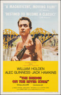 """Movie Posters:War, The Bridge on the River Kwai (Columbia, 1958). Very Fine- on Linen. One Sheet (26.75"""" X 41.75"""") Style B. War.. ..."""