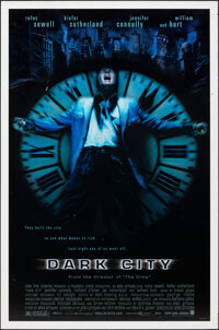 """Dark City (New Line, 1998). Rolled, Fine. One Sheet (27"""" X 41"""") DS. Science Fiction"""