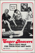 """Movie Posters:Sexploitation, Eager Beavers & Other Lot (MPM, R-1980). Folded, Fine. One Sheets (2) (27"""" X 41""""). Original Title: The Swinging Barmaids..."""