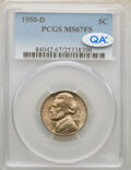 Jefferson Nickels, 1950-D 5C MS67 Full Steps PCGS. PCGS Population: (41/0). NGC Census: (57/0). CDN: $560 Whsle. Bid for NGC/PCGS MS67. ...