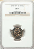 1939 5C Reverse of 1938 PR66 NGC. NGC Census: (409/130). PCGS Population: (751/187). CDN: $110 Whsle. Bid for NGC/PCGS P...