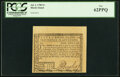Fully Signed Rhode Island July 2, 1780 $1 PCGS New 62PPQ