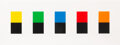 Prints & Multiples, Ellsworth Kelly (1923-2015). Colors Over Black, 2012. Lithograph in colors on wove paper. 28 x 77 inches (71.1 x 195.6 c...