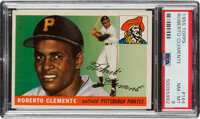 1955 Topps Roberto Clemente Rookie #164 PSA NM-MT 8
