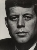 Photographs, Philippe Halsman (American, 1906-1979). John F. Kennedy, 1952. Oversized gelatin silver, printed 1972. 39-5/8 x 29-1/2 i...