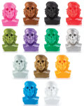 Collectible, Frank Kozik X Ultraviolence. Dead Che Bust (set of 13), 2010. Cast vinyl. 16 x 9 inches (40.6 x 22.9 cm) (each). Edition... (Total: 13 Items)