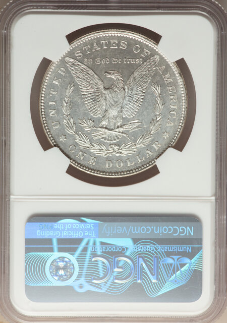 1878 7TF S$1 REV 1878, DM 66 NGC
