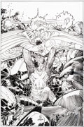 Original Comic Art:Complete Story, John Romita Jr. and Klaus Janson Action Comics #1020 Cover and Near-Complete Story (22 of 23 pages) Original Art G... (Total: 19 Original Art)