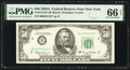 Fr. 2113-B* $50 1963A Federal Reserve Note. PMG Gem Uncirculated 66 EPQ
