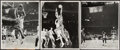 Basketball Collectibles:Photos, Bill Russell Vintage Photographs, Lot of 5.... (Total: 5 items)