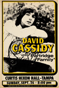 """Music Memorabilia:Posters, David Cassidy """"Of the Partridge Family"""" 1971 Tampa, FL Concert Poster...."""