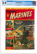 Golden Age (1938-1955):War, Fightin' Marines #2 (St. John, 1951) CGC FN 6.0 Off-white to white pages....