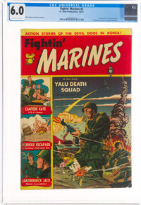 Fightin' Marines #2 (St. John, 1951) CGC FN 6.0 Off-white to white pages