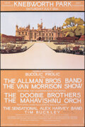 """Movie Posters:Rock and Roll, Knebworth 1974 (1999). Rolled, Very Fine+. Signed Second Edition Concert Poster (20"""" X 30"""") Ian Beck Artwork. Rock and Roll...."""