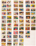 Music Memorabilia:Memorabilia, The Beatles Yellow Submarine Trading Cards Complete Set of 66 (Anglo Confectionary UK,1968). ...