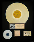 Music Memorabilia:Awards, The Rolling Stones Exile On Main St RIAA Hologram R Gold Sales Award Presented to Mick Jagger....
