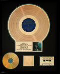 Music Memorabilia:Awards, The Rolling Stones Big Hits (High Tide and Green Grass) RIAA R Hologram Gold Sales Award. ...