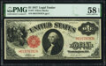 Fr. 37 $1 1917 Legal Tender PMG Choice About Unc 58 EPQ