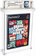 "Video Games:Playstation, Grand Theft Auto III - Wata 9.8 A++ Sealed [""Trilogy"" Release, Later Production], PS2 Rockstar 2001 USA. ..."