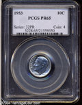 Proof Roosevelt Dimes: , 1953 PR 65 PCGS. The current Coin Dealer Newsletter (...