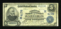 Saint Louis, MO - $5 1902 Date Back Fr. 593 The NB of Commerce Ch. # (M)4178