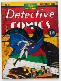 Detective Comics #33 (DC, 1939) Condition: Apparent PR