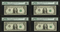 Fr. 1910-C $1 1977A Federal Reserve Note. PMG Gem Uncirculated 66 EPQ, Fr. 1910-C $1 1977A Federal Reserve Not... (Total...