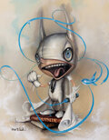 Prints & Multiples, Greg (Craola) Simkins (b. 1975). Ralf, 2013. Giclee in colors on canvas. 14 x 11 x 1-1/2 inches (35.6 x 27.9 x 3.8 cm). ...