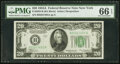 Small Size:Federal Reserve Notes, Fr. 2055-B $20 1934A Federal Reserve Note. PMG Gem Uncirculated 66 EPQ.. ...