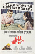 """Movie Posters:Drama, All the Way Home (Paramount, 1963). Folded, Very Fine-. One Sheet (27"""" X 41"""") & Uncut Pressbook (10 Pages, 12.25"""" X 15""""). Dr... (Total: 2 Items)"""