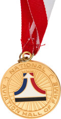 Explorers:Space Exploration, National Aviation Hall of Fame Gold Medal, Awarded to and Directly from the Estate of NASA Legend Chris Kraft, with Certificat...