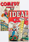 Golden Age (1938-1955):Crime, Ideal Comics #2/Comedy Comics #30 (Timely, 1944) Condition: Average FN.... (Total: 2 Comic Books)