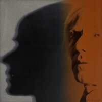 Andy Warhol (1928-1987) The Shadow, from Myths, 1981 Screenprint in colors with diamond d