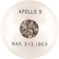 Explorers:Space Exploration, Apollo 9 Flown Heat Shield Segment in Acrylic Display Directly from the Estate of NASA Legend Chris Kraft, with Certificat...