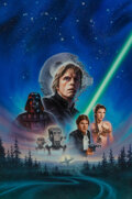 Paintings, John Alvin (American, 1948-2008). Star Wars: Return of the Jedi, International Video Cover, 1995. ... ...