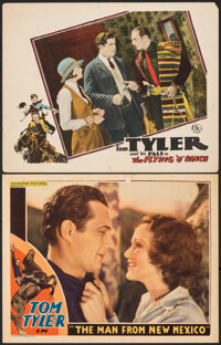 """The Man from New Mexico & Other Lot (Monogram, 1932). Fine+. Lobby Cards (2) (11"""" X 14""""). Western"""