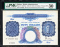 World Currency, Malaya Board of Commissioners of Currency 50 Dollars 1942 (ND 1945) Pick 14 KNB14a PMG Very Fine 30.. ...