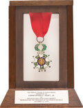 Explorers:Space Exploration, French Legion of Honor Medal, Chevalier (Knight) Degree, Presented in 1976 to and Directly from the Estate of NASA...