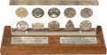 Explorers:Space Exploration, Gemini 3 - Gemini 12 Presentation Set of Flown Fliteline Medals (Ten) in Lucite, One of only Twenty-four Produced, Directly fr...