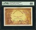 Portugal Banco de Portugal 10 Mil Reis 22.5.1908 Pick 81 PMG Extremely Fine 40