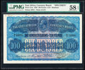 World Currency, East Africa East African Currency Board 100 Florins = 10 Pounds 1.5.1920 Pick 12As Specimen PMG Choice About Unc 58 EPQ....