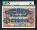 World Currency, East Africa East African Currency Board 500 Florins = 50 Pounds 1.5.1920 Pick 12Bs Specimen PMG About Uncirculated 55.. ...
