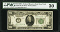 Fr. 2051-B* $20 1928A Federal Reserve Star Note. PMG Very Fine 30