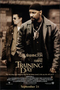 """Movie Posters:Crime, Training Day (Warner Bros., 2001). Rolled, Very Fine. One Sheet (27"""" X 40"""") DS Advance. Crime.. ..."""