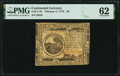 Colonial Notes:Continental Congress Issues, Continental Currency February 17, 1776 $6 PMG Uncirculated 62.. ...