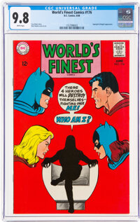 World's Finest Comics #176 (DC, 1968) CGC NM/MT 9.8 White pages