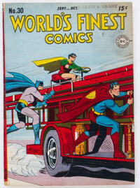 World's Finest Comics #30 (DC, 1947) Condition: VG/FN