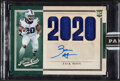 Football Cards:Singles (1970-Now), 2020 Panini Instant Zack Moss #'d 4/10...