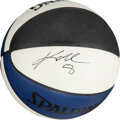 Basketball Collectibles:Balls, 1997 Kobe Bryant Single Signed Limited Edition All-Star Weekend Basketball from The Steve Koonin Collection - Slam Dunk Champi...